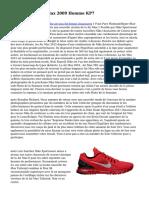 huge discount d031e ee7bc Acheter Nike Air Max 2009 Homme KP7