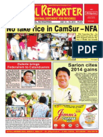 Bikol Reporter July 12-18, 2015 Issue