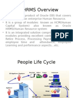 Oracle HRMS Overview