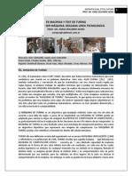 302.  EX MACHINA Y TEST DE TURING + HOMBRES Y MAQUINAS