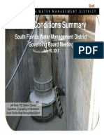 July 2015 SFWMD Hydrologic Conditions Report
