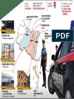 La mappa dei sequestri