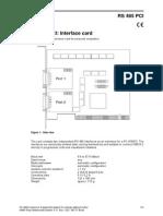 Hiquad e Rs485 Pci Data Sheet