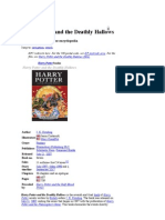 Harry Potter and the Deathly Hallows - Wikipedia, The Free Encyclopedia