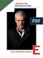 Richard III Education Pack PDF