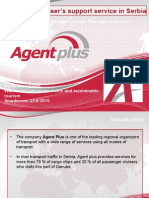 Agent Plus-Cruiser's Support Service in Serbia
