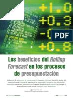 Los Beneficios Del Rolling Forecast en Los Procesos de Presupuestación