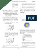 Lista Revisão P1 - Fen. Eletromagnéticos - Parte 1
