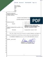 Duarte v. Target Corporation - Document No. 5
