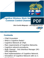 Cognitive Wireless Mesh Network without Common Control Channel Evaluated in NS-3
