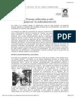 Temas Culturales - La Individuacion - MG