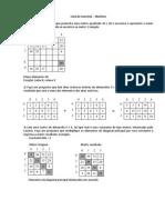 Lista de Exercícios - Matrizes - Comentada