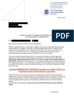 USCIS Changing Daca Terms to 2 Years to Comply With Lawsuit Letter - 14 July 2015