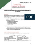 ERFSC Minigrant Report 071515