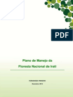 Plano de Manejo da FLONA de Irati - vol 1