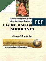 Laghu Parasara Siddhanta (In English)