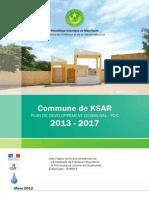 Rapport Ksar
