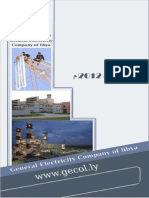 Libya Ministry of Electrcity 2012 Annual Report