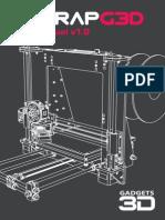 RepRapG3D Build Manual En