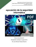 Manual Aplicacion de La Seguridad Jnformatica
