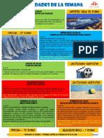 Actividades de la escuela de español del 20-26 Julio