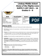 LMS Supply List 1516