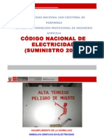 Codigo Nacional de Electricidad- Suministro 2011