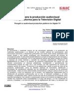 Pensar ParaLa Produccion Audiovisual Multiplataforma