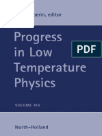 (Progress in Low Temperature Physics 14) W.P. Halperin (Eds.)-Elsevier, Academic Press (1995)
