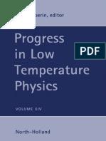 (Progress in Low Temperature Physics 14) W.P. Halperin (Eds.)-Elsevier, Academic Press (1995)