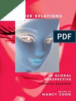 Gender relations in Global perspective essential readings - Nancy Cook
