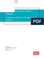 Cyber Security for Power Utilities