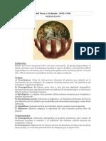 Contexto Historico Del Perú y El Mundo