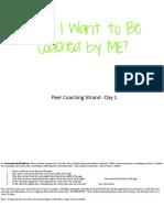 Peer Coaching Day 2 - Confratute 2015