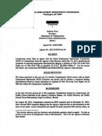 EEOC decision sexual orientation Title VII