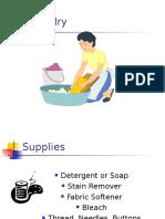 Laundry Flow Chart