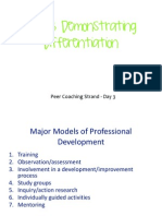Peer Coaching Day 3 - Confratute 2015