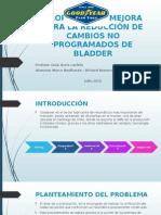 Presentación Cambios Bladder