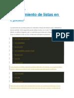 Vectores en Python