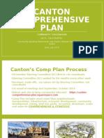 Canton Comprehesnive Plan June 2015 Meetings