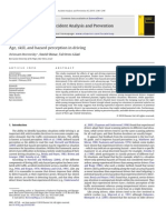 Age, Skill, And Hazard Perception in Driving