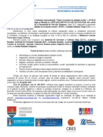 Anunt Conferinta Tcss 21 22 Mai 2015