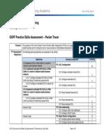 OSPF Practice Skills Assessment – Packet Tracer