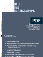 Chapter :11 Achieving Interrelationships