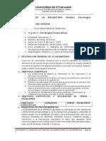 Carta Didáctica. 2015, Estrategias Corporativas