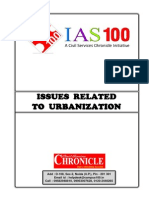 Issues Related to Urbanization