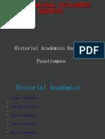 Carlos Anibal Gutiérrez Negrete Academico y Pasatiemposz