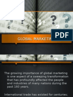 Clase Global Marketing