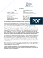 CCUSA/USCCB Letter on EITC/CTC