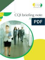 CQI SL Annex Brochure
